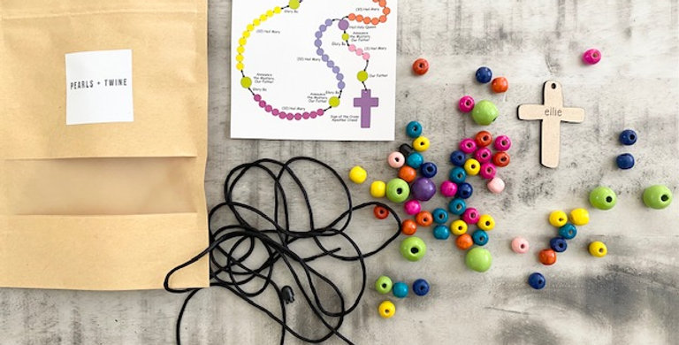 Build a rosary kit - personalized