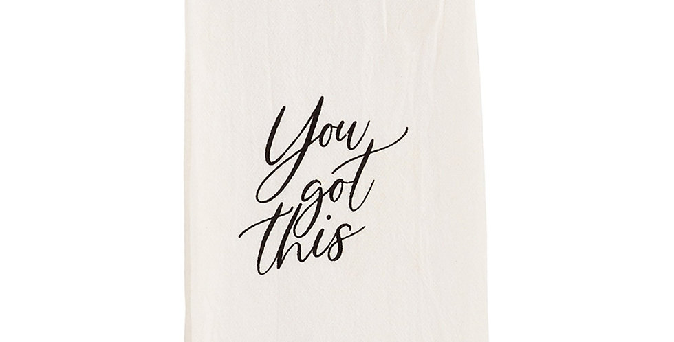 you got this towel