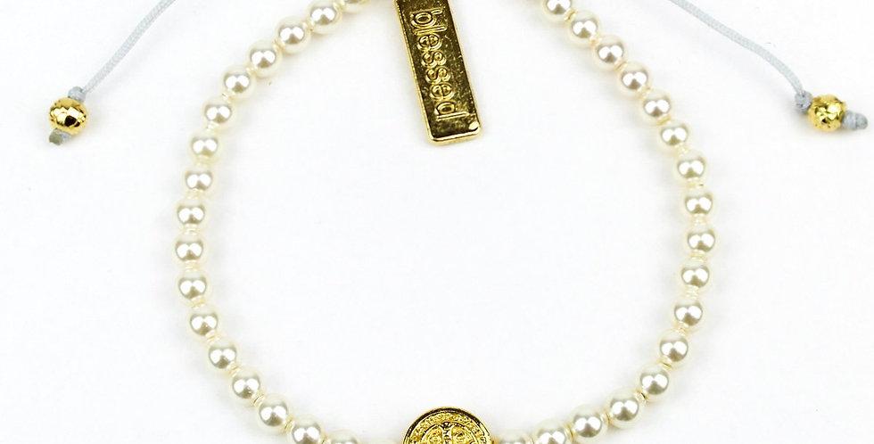 Pearl Birthday Blessing Bracelets