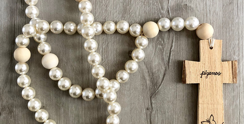 large pearl rosary