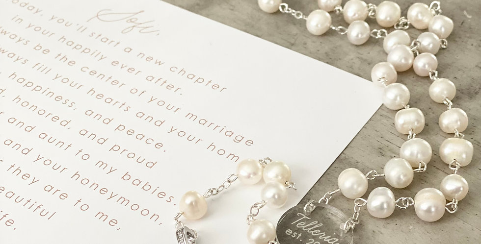 heirloom rosary personalized
