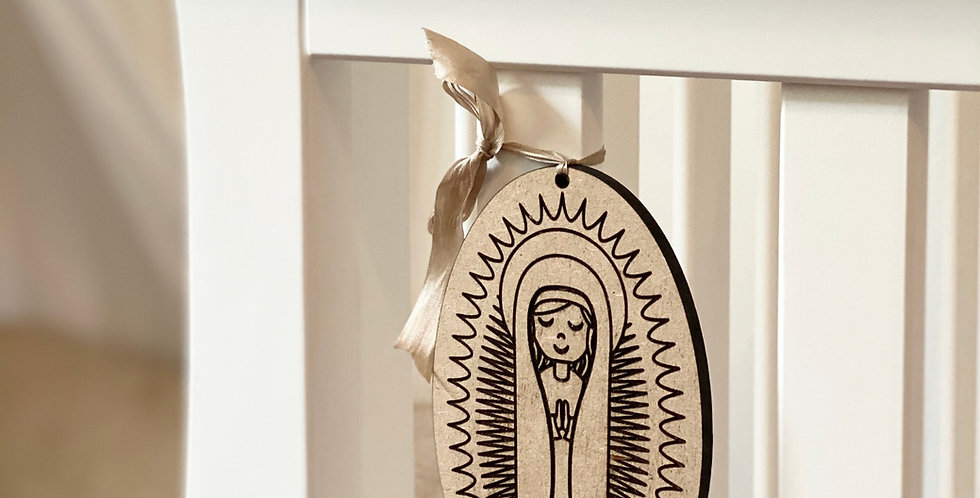 Virgin Mary charm