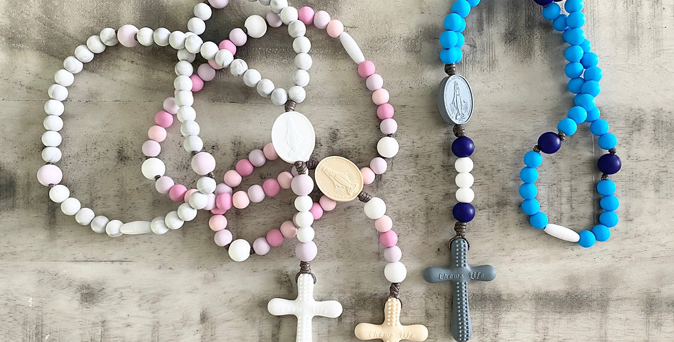 children's silicone rosary