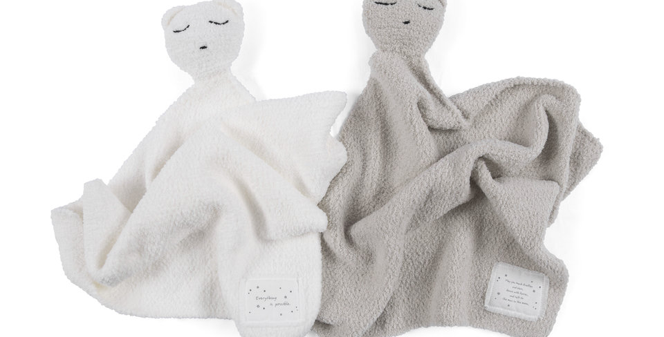 baby lovey blanket - with sentiment