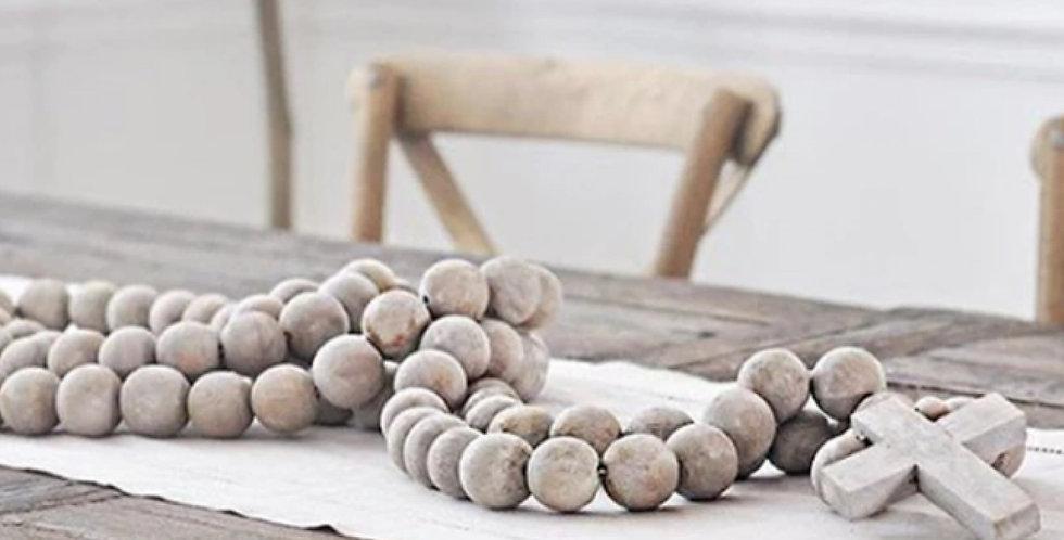 jumbo weathered prayer beads