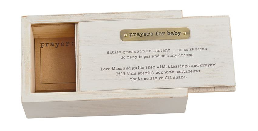 prayers for baby box set