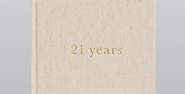 21 years of you - journal