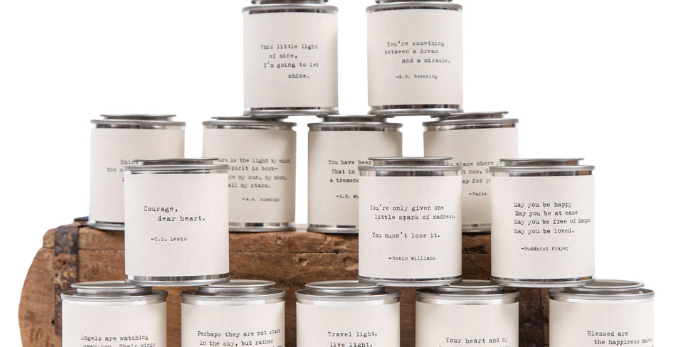 quote tin candles