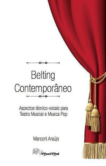 Livro Belting contemporâneo - Marconi Araújo