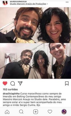 Silvia Pinho e Maestro