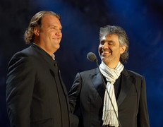 Sir Bryn Terfel with Andrea Bocelli