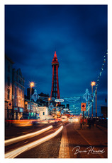 Blackpool Tower at night