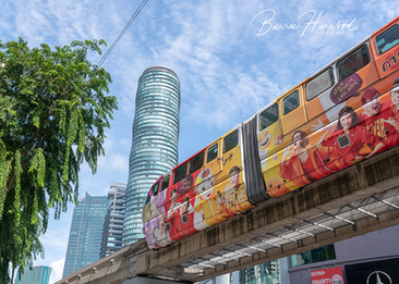 Monorail in Kuala Lumpur, Malaysia