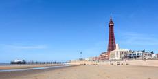 Blackpool Tower and beach