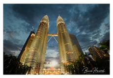 The Petronas Towers, Kuala Lumpar, Malaysia
