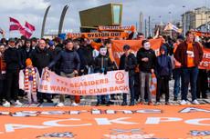 Blackpool FC protest