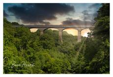 The Pontcysyllte Aqueduct, Llangollen, North Wales
