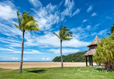 Beach at Kota Kinabalu, Borneo