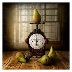 Pears and window