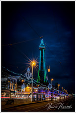 Blackpool Tower during the annual illuminations