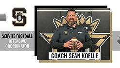 Servite Football CoachSean Koelle