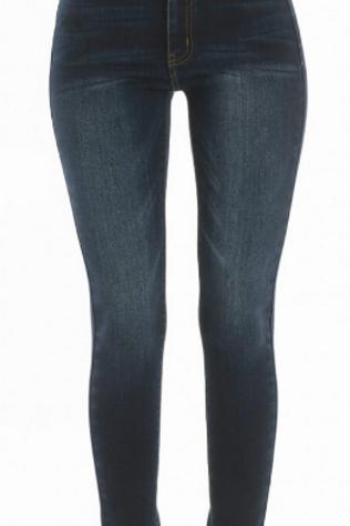 Elsa- Kancan Mid-Rise Dark Wash Jean