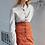 Thumbnail: Corduroy Button Down Skirt