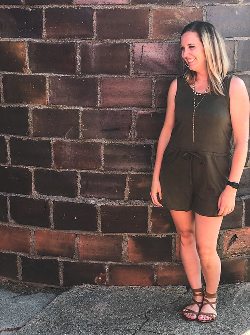 Yours Truly Romper