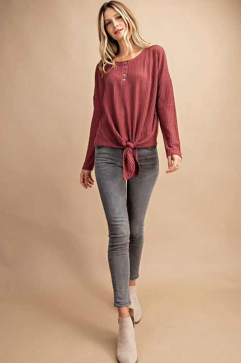 Waverly Button Top