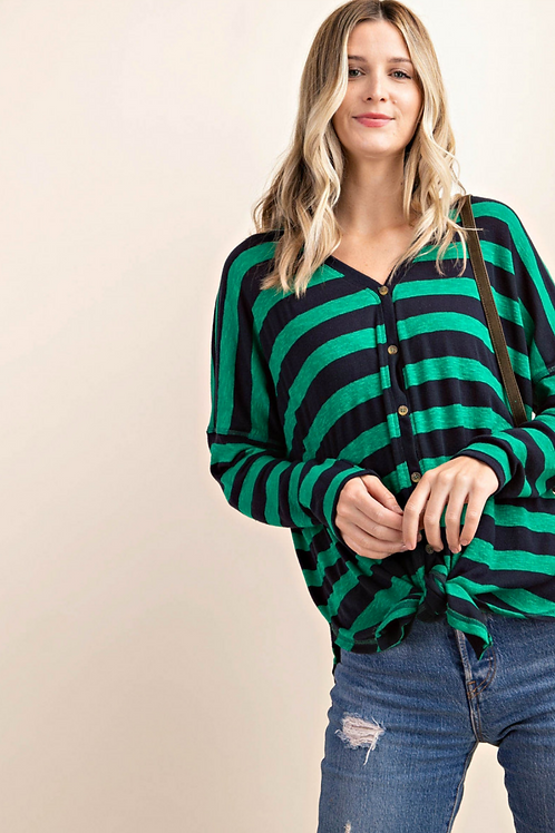Tinley Striped Top