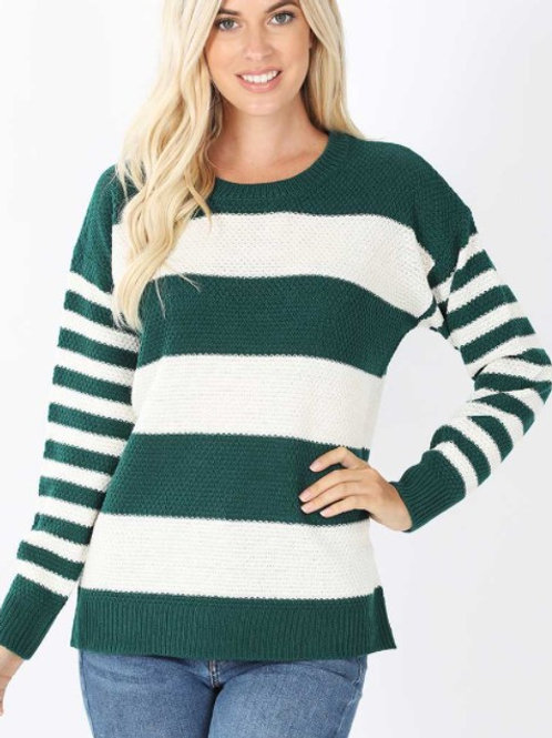 Midweight Stripe Sweater