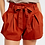 Thumbnail: Cotton Twill Cuffed Short w/ Tie Sash