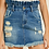 Thumbnail: Trudy Distressed Paperbag Skirt