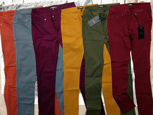 Basic Five Pocket Shape Long Pants