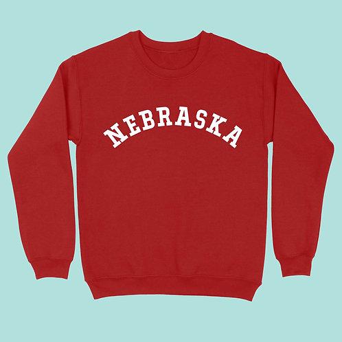 Nebraska Graphic Sweatshirt