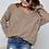 Thumbnail: V-Neck Crochet Sweater