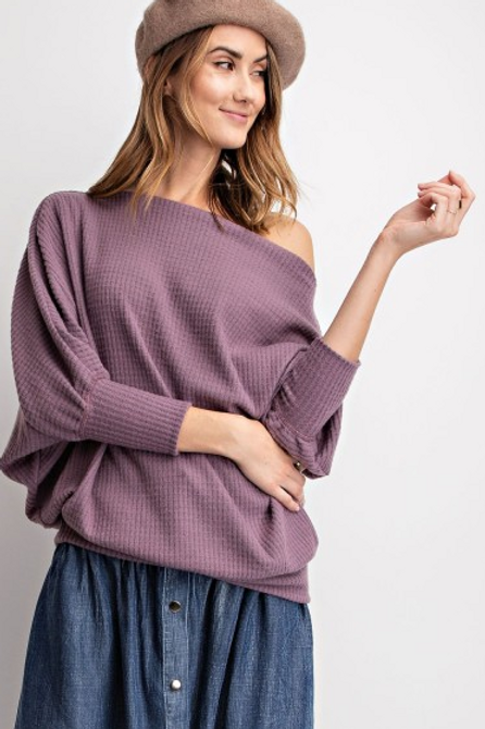 Remy ThermalDolman Sleeve Top