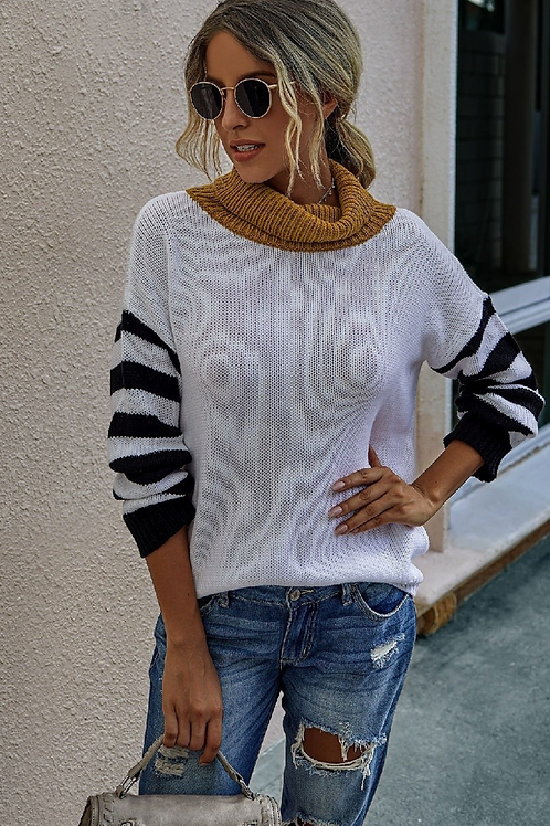 Alexa Striped Sweater