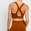 Thumbnail: Rust Colored Razor Back Bra