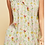 Thumbnail: Sleeveless Floral Print Button Down Ruffle Cutout Back Top