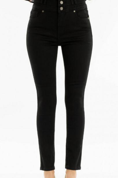 Button Up Black KanCan Jeans