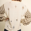 Thumbnail: Long Striped Sleeve Pullover Sweater with Ripped Details