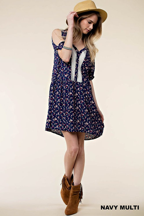 Button Down Melody Mini Dress