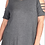 Thumbnail: Short Sleeve Cold Shoulder Top With Straps Detail PLUS