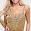 Thumbnail: Velvet V-Neck Camisole with Floral Patch