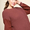 Thumbnail: Long Poplin Lace Sleeve Knitted Pullover Sweater