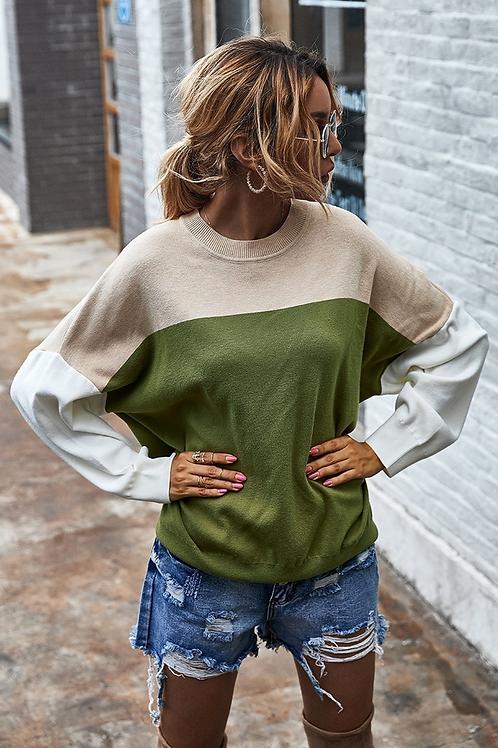 Greenleigh Block Sweater