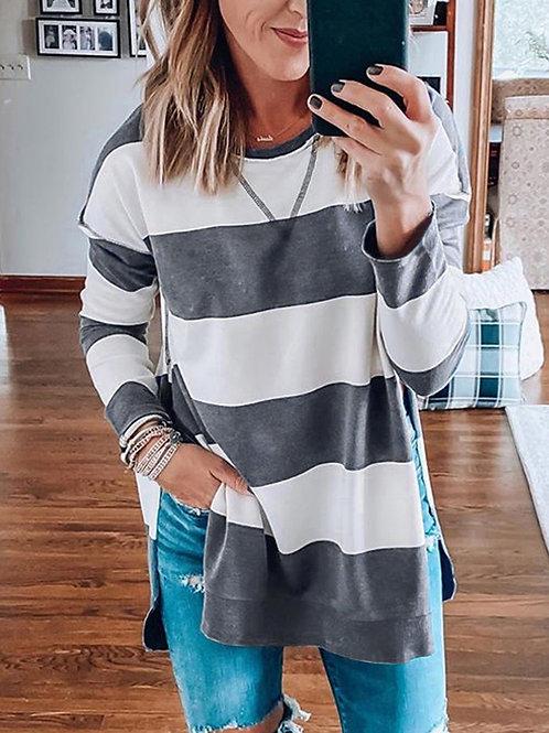 Pullover Stripe Sweater