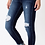 Thumbnail: Chloe High Rise Button Fly Ankle Skinny