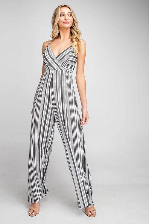 Beckett Striped Jumpsuit
